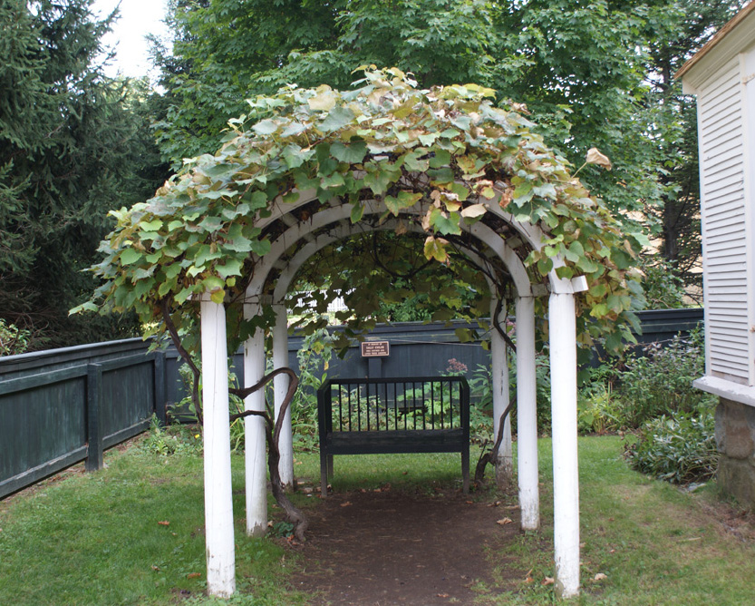 Walsh House Arbor, Strawbery Banke